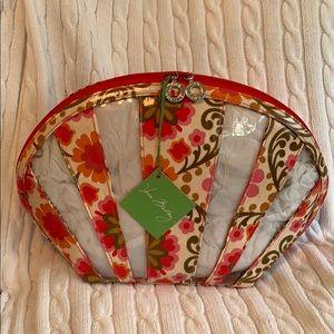 Vera Bradley Large Seashell Cosmetic Folkloric